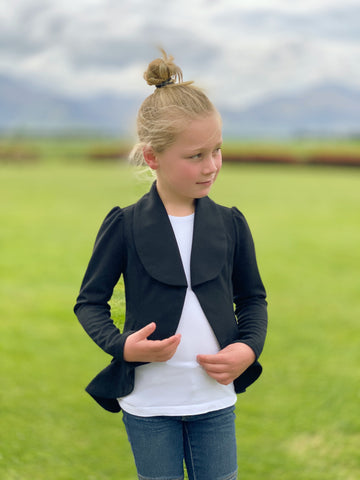 'She Means Business' Blazer