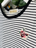 Bouquet Striped Tee