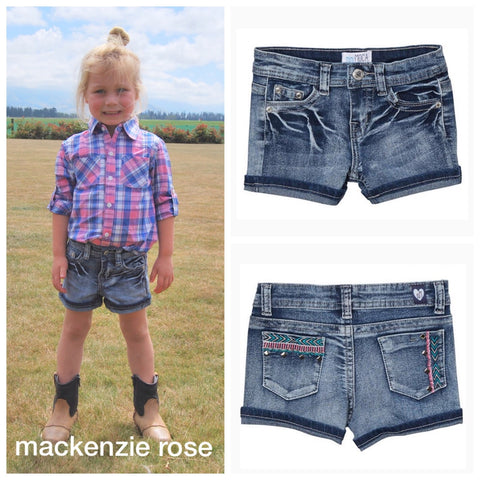 Girls Denim Shorts (5-14 years)