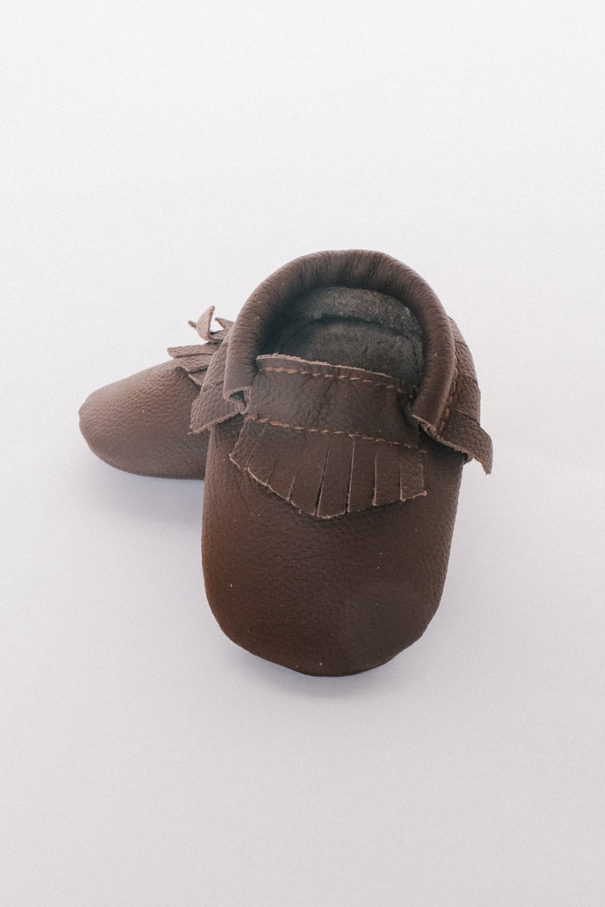 Baby Moccasins- Multiple colors