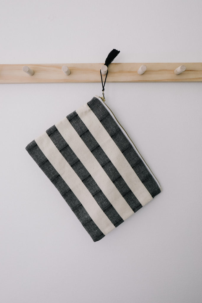 Essentials Striped Pouch