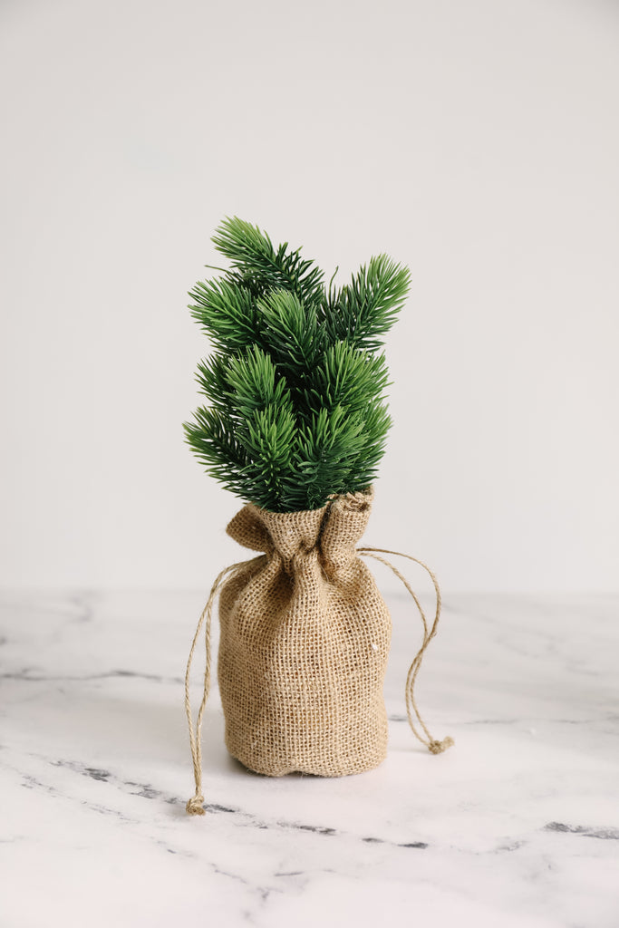 Faux Pine Trees