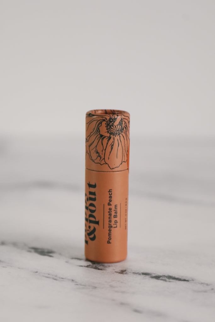 Poppy & Pout Flower Powered Lip Balm