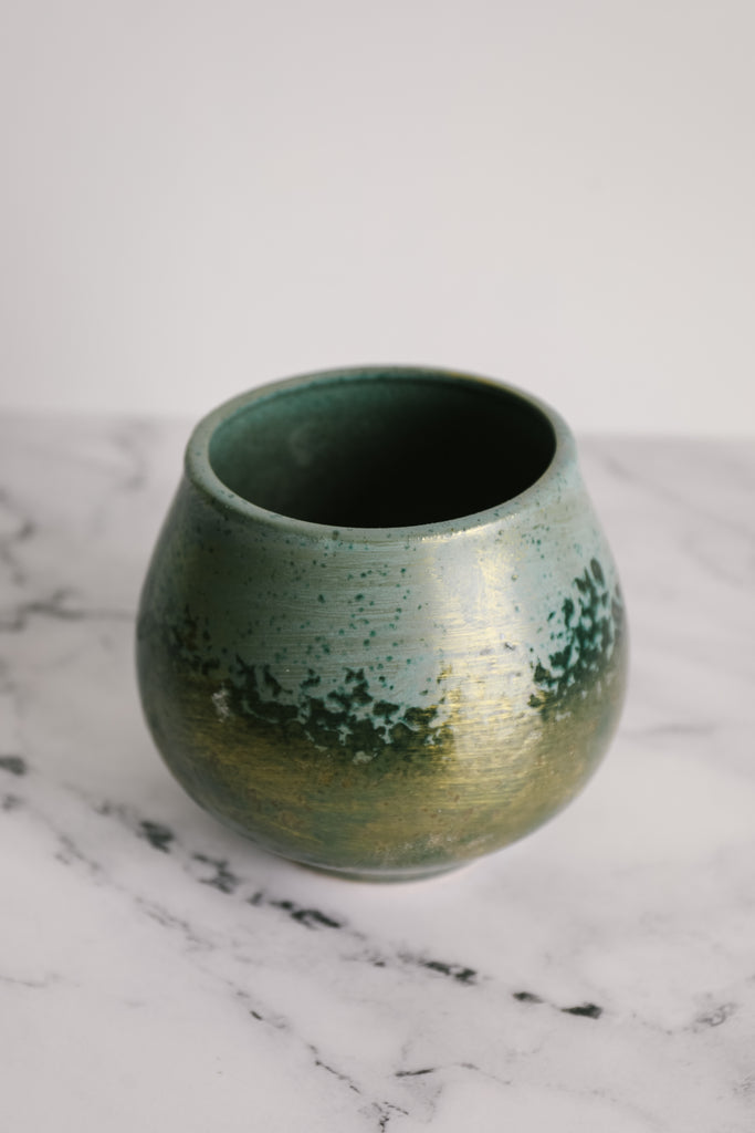 Indescent Green Planter
