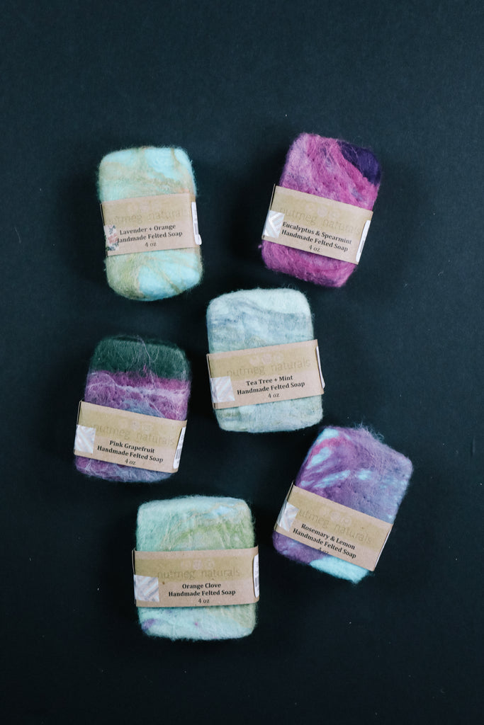 Wool Wrapped Soap