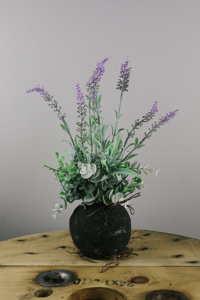Rooted Faux Wild Lavender