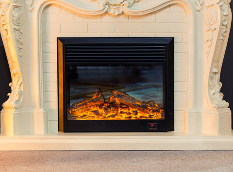 Gas log fireplace, fireplace care, fireplace maintenance, fireplace cleaning