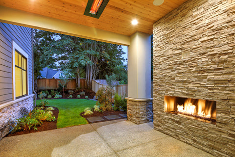 Outdoor Fireplace Units