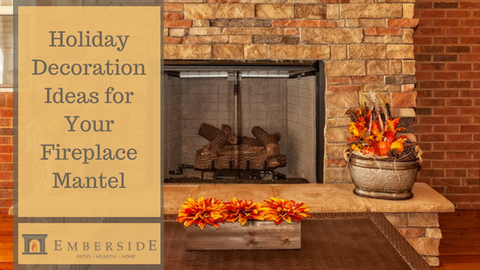 Holiday Decoration Ideas for Your Fireplace Mantel