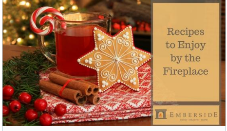recipes to enjoy by the fireplace