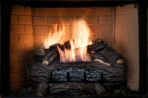 Gas Log Fireplace Insert