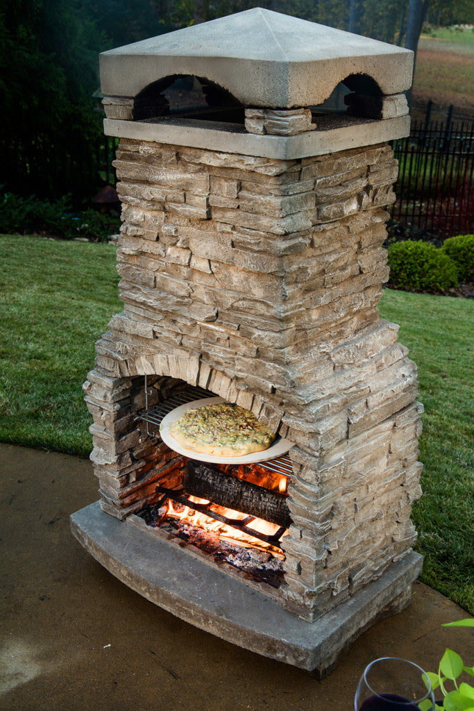 Fireplace Design fireplace caulk : Sienna Outdoor Fireplace | Emberside