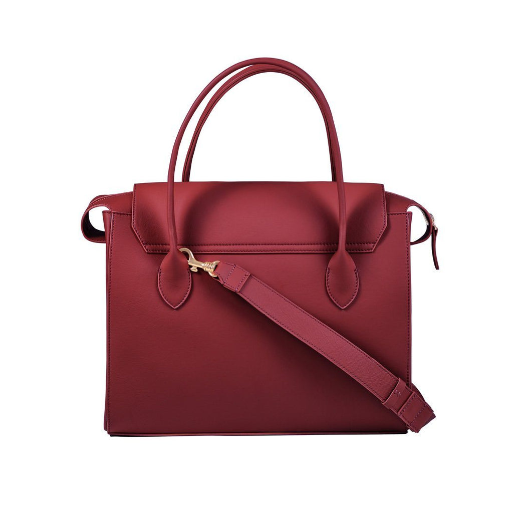 #02-01: The Satchel (Burgundy)