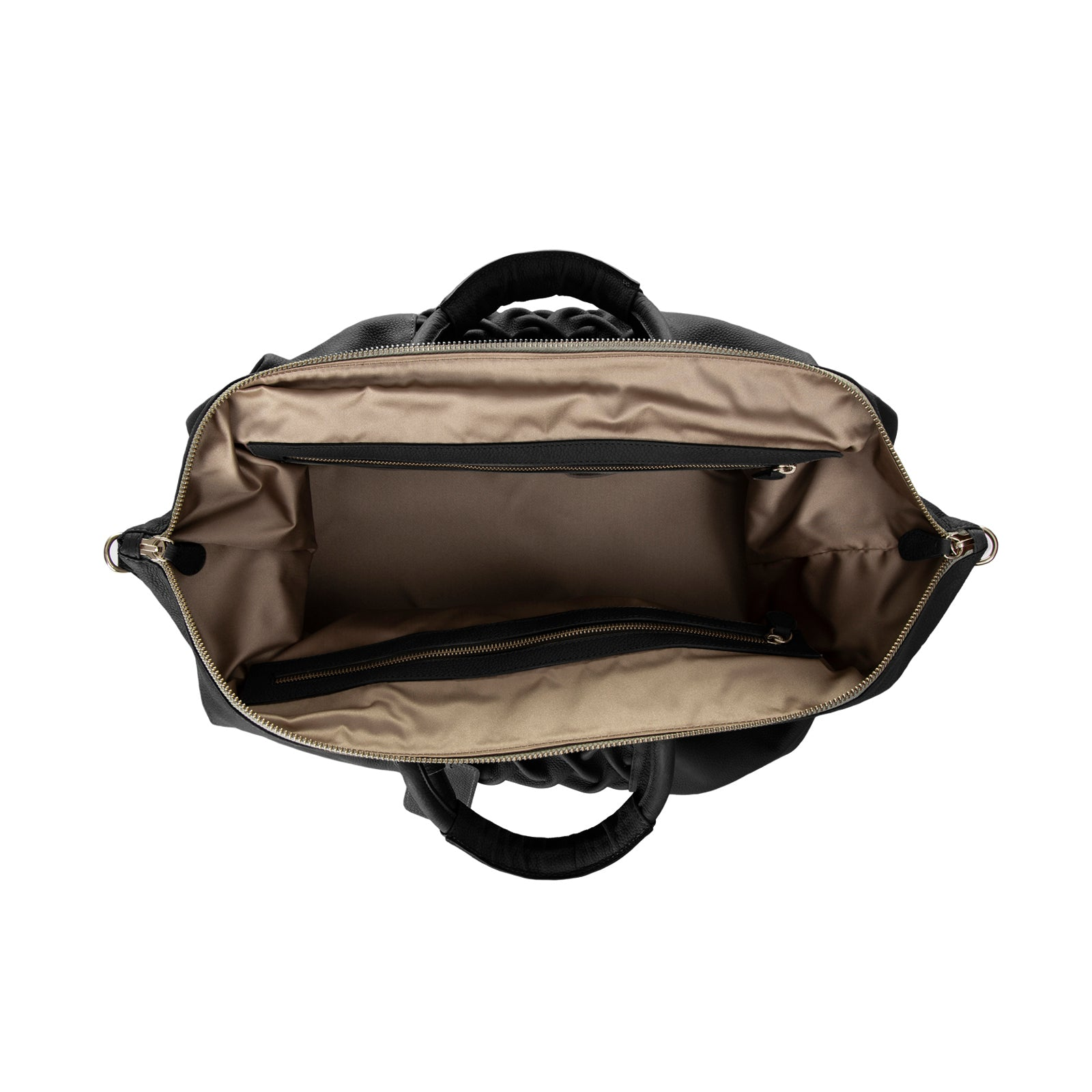 The Pleated Duffle Bag