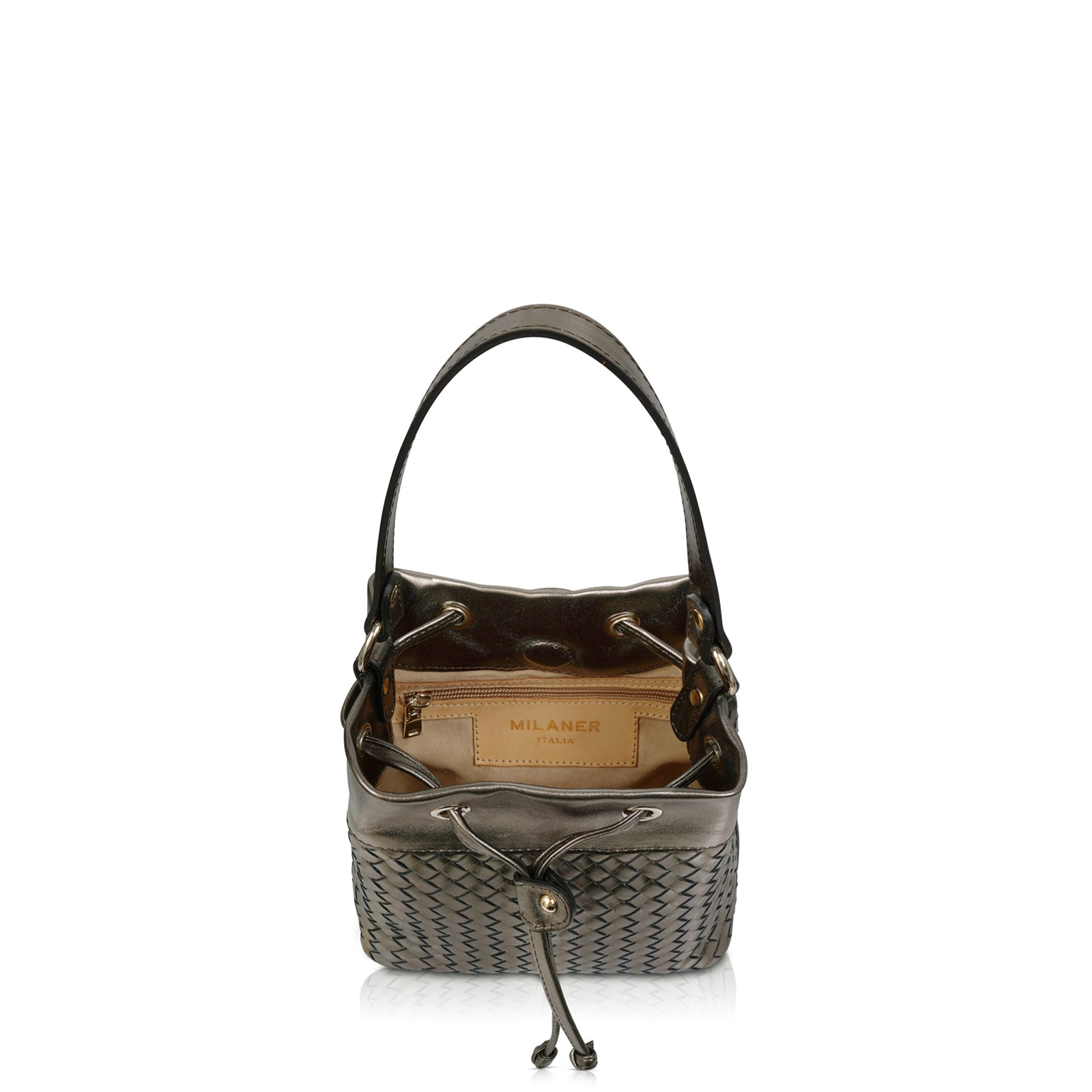 The Sylvia Woven Bucket