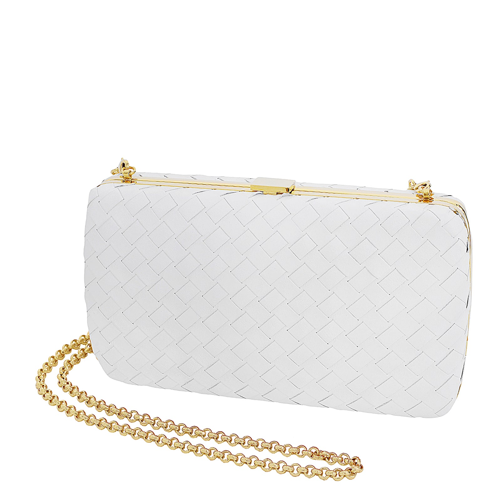 The Woven Clutch