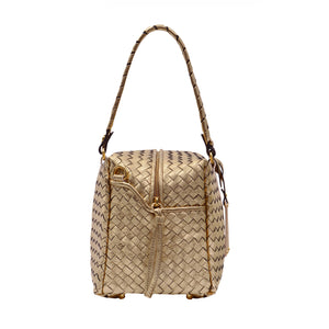 The Woven Cube Bag