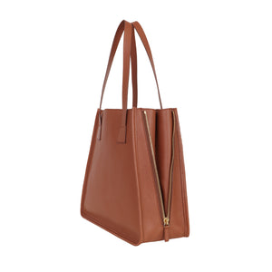 The Side Zipper Tote