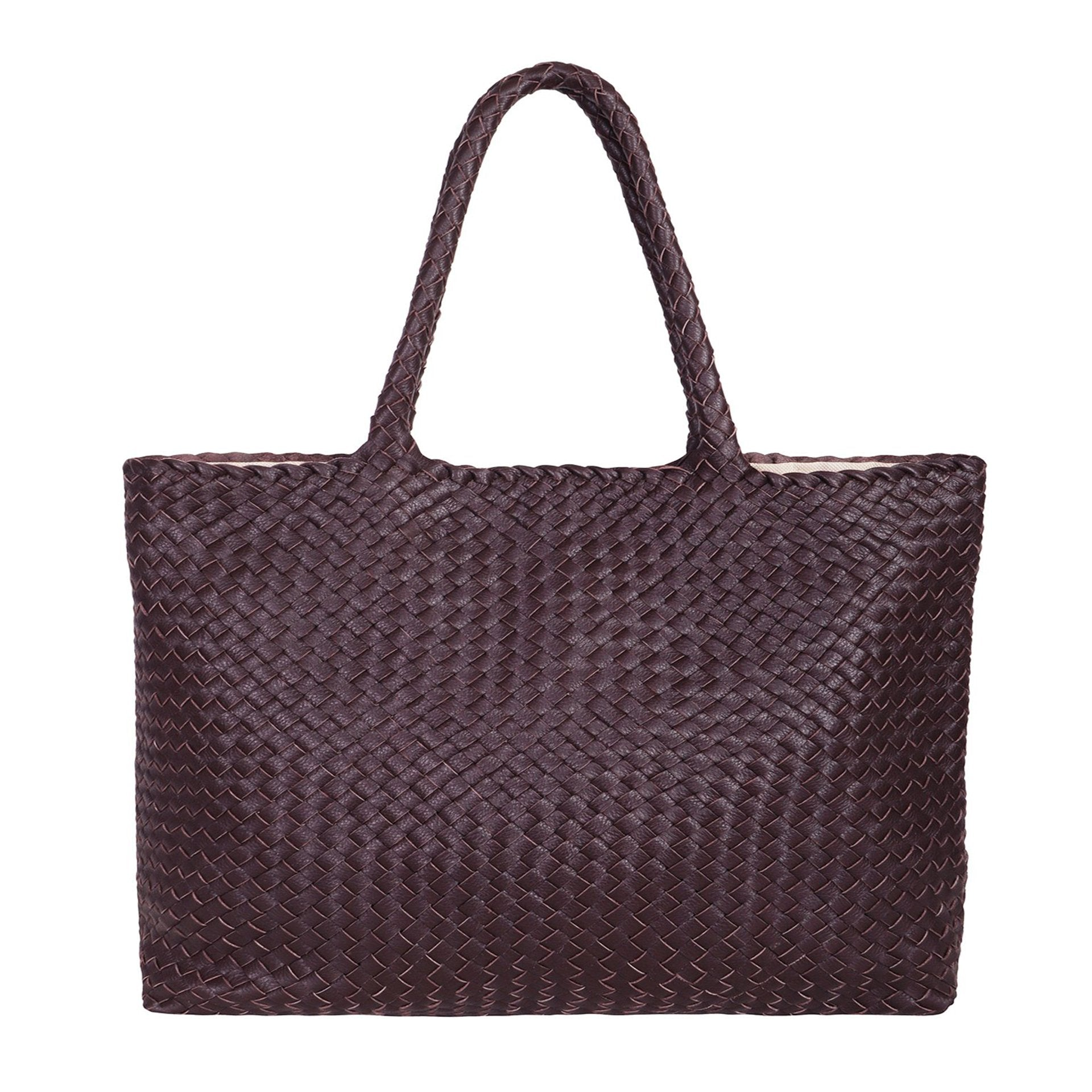 The Travel Elena Woven Handbag