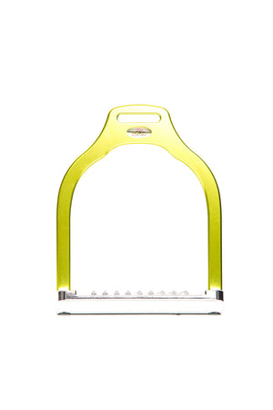 Steffa Wave Dressage Stirrup (Lime)