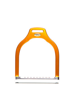 Steffa Wave Dressage Stirrup (Orange)