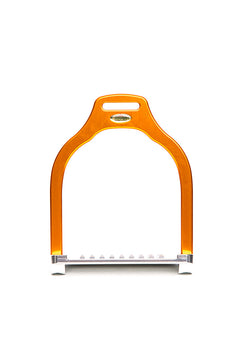 Steffa Wave Jump Stirrup (Orange)
