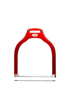 Steffa Wave Dressage Stirrup (Red)