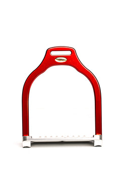 Steffa Wave Jump Stirrup (Red)