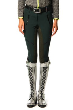 Andiano Full Suede Breeches (Green Woods)