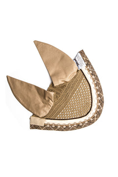 Marta Morgan Fly Ears (Beige with a Beige bow trim)