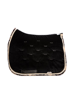 Marta Morgan Velvet Saddle Blanket (Black Velvet)