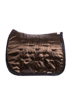 Marta Morgan Satin Saddle Blanket (Chocolate Brown Satin)