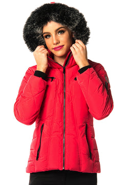 Cinovo Jacket (Fuchsia Red)