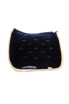 Marta Morgan Velvet Saddle Blanket (Navy Velvet)