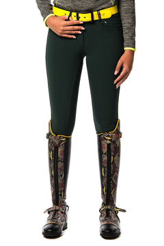 Onira Silicone Grip Seat Breeches (Green Woods)
