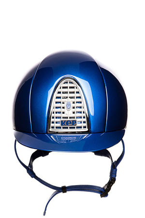 Cromo Polish KEP Helmet (Royal Blue Helmet)