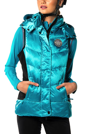 SAN DIEGO BODY WARMER (Capri Blue)