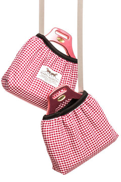 Marta Morgan Stirrup Cover (Red Check)
