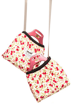 Marta Morgan Stirrup Cover (Red Floral)