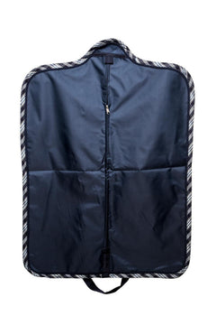 Marta Morgan Jacket Bag (Blue with Blue Tartan Trim)