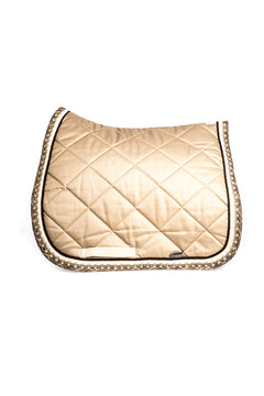 Marta Morgan Cotton Saddle Blanket (Beige Cotton)