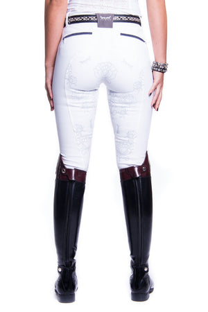 B-Margot Competition Breeches (White)