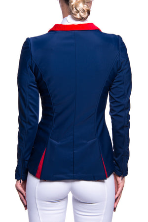 J-Evelyn Competition Jacket (Blue/Red)