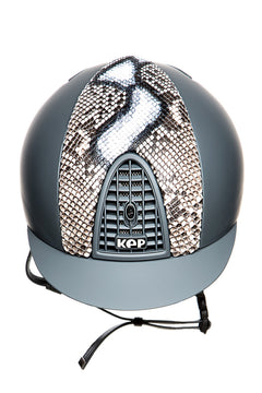KEP CROMO PYTHON LIMITED EDITION HELMET (GREY/WHITE AND BLACK)