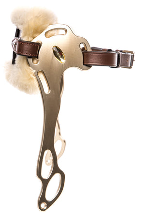 Wave Hackamore Leather (Brown/Sheepskin)