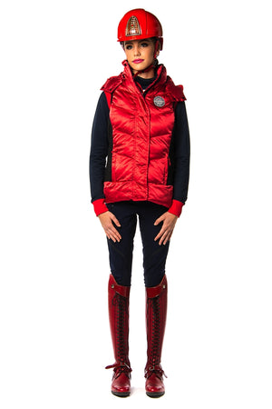 SAN DIEGO BODY WARMER (Red Pepper)