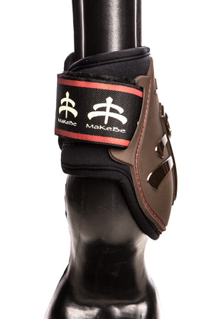 Temple Fetlock Young Horse Boots Hind (Brown)