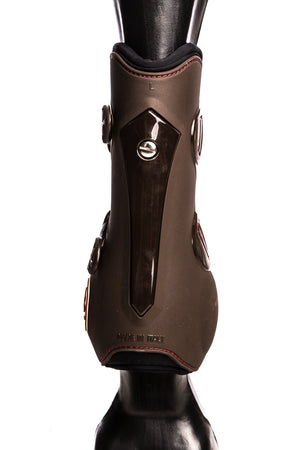 Temple Front Tendon Boots (Brown)