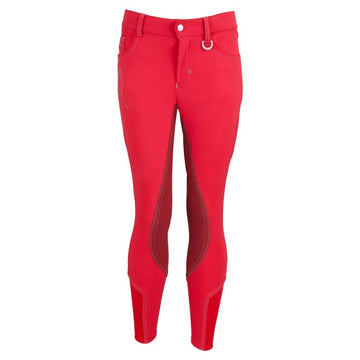BR Junior - Marley Full Seat Breeches (Red)