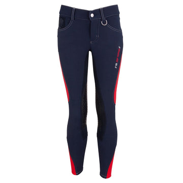 BR Junior - Mika Full Seat Breeches (Navy)